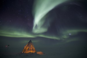 Amundsen-Scott-South-Pole-Station-Aurora
